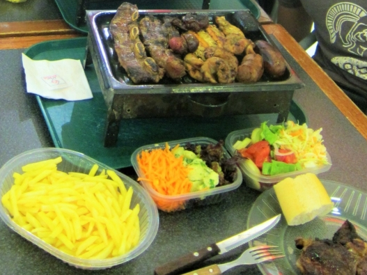 Dinner at Bahia Blanca Argentina, Crew Shoreleave