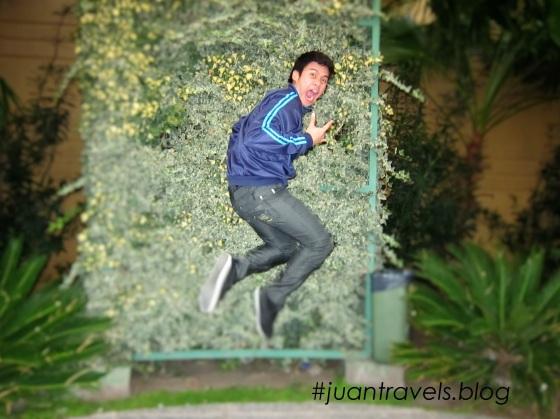 Jumpshot with my BOCA Junior jacket