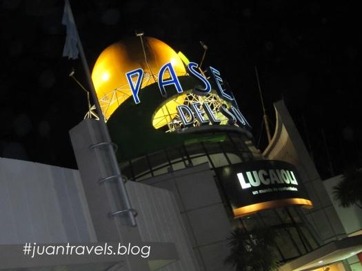 Shopping Mall at night, Bahia Blanca