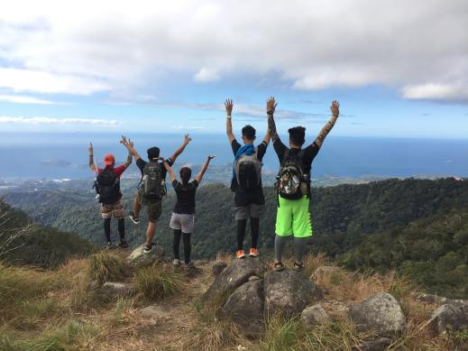 Group photo, Tarak Ridge, Mt. Mariveles