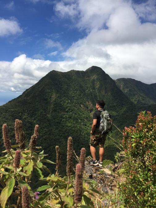 Amazing view on top of Tarak ridge, Mt Mariveles