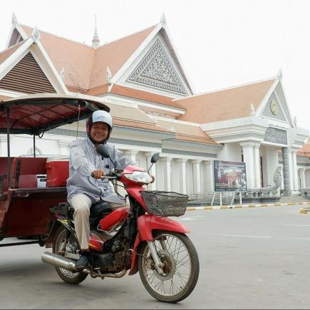Lem, Tuktuk driver in Cambodia