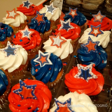 celebratory cupcakes for the 4th of July