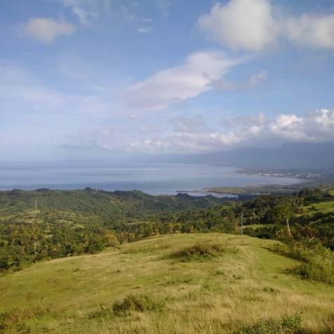 View of Baybay Leyte from the Lintaon Peak